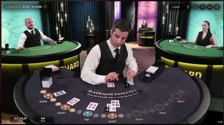 NetEnt Network Branded Casino hos Bethard.com